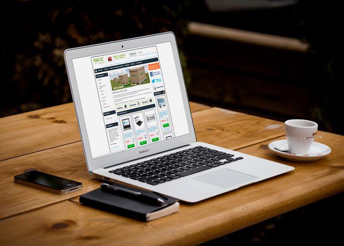 SCC Trade website