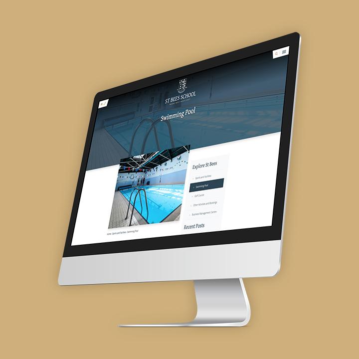 St Bees School website screenshot