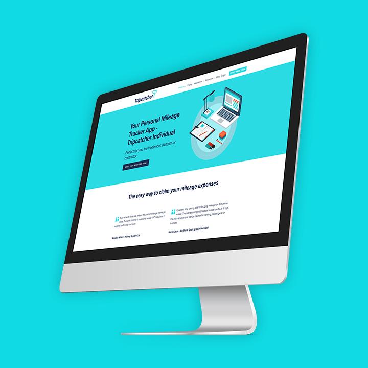 Tripcatcher website screenshot