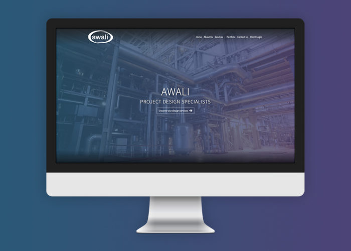 Awali website screenshot